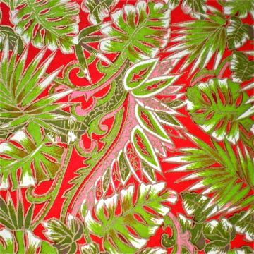 Tropical Red and Green